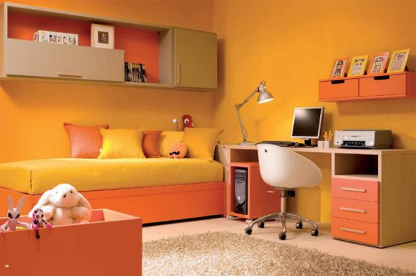 Ce culori sa folosesti pentru camera copilului?